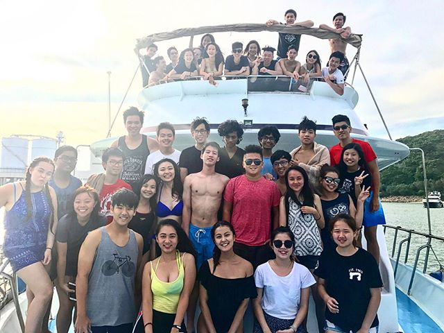 . Thank you for joining our ISA Boat Party today! Hope you all enjoy your time and make new friends. Look forward to seeing you in our next event.😋