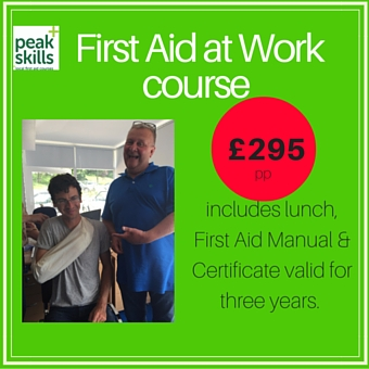 first aid courses at work