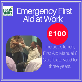 Emergency First Aid at Work course Sevenoaks