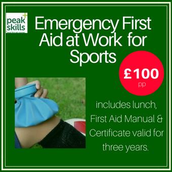 Sports First Aid Course Sevenoaks