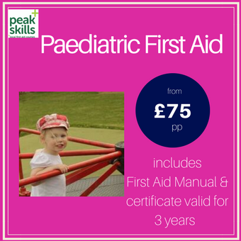 Paediatric First Aid course Sevenoaks