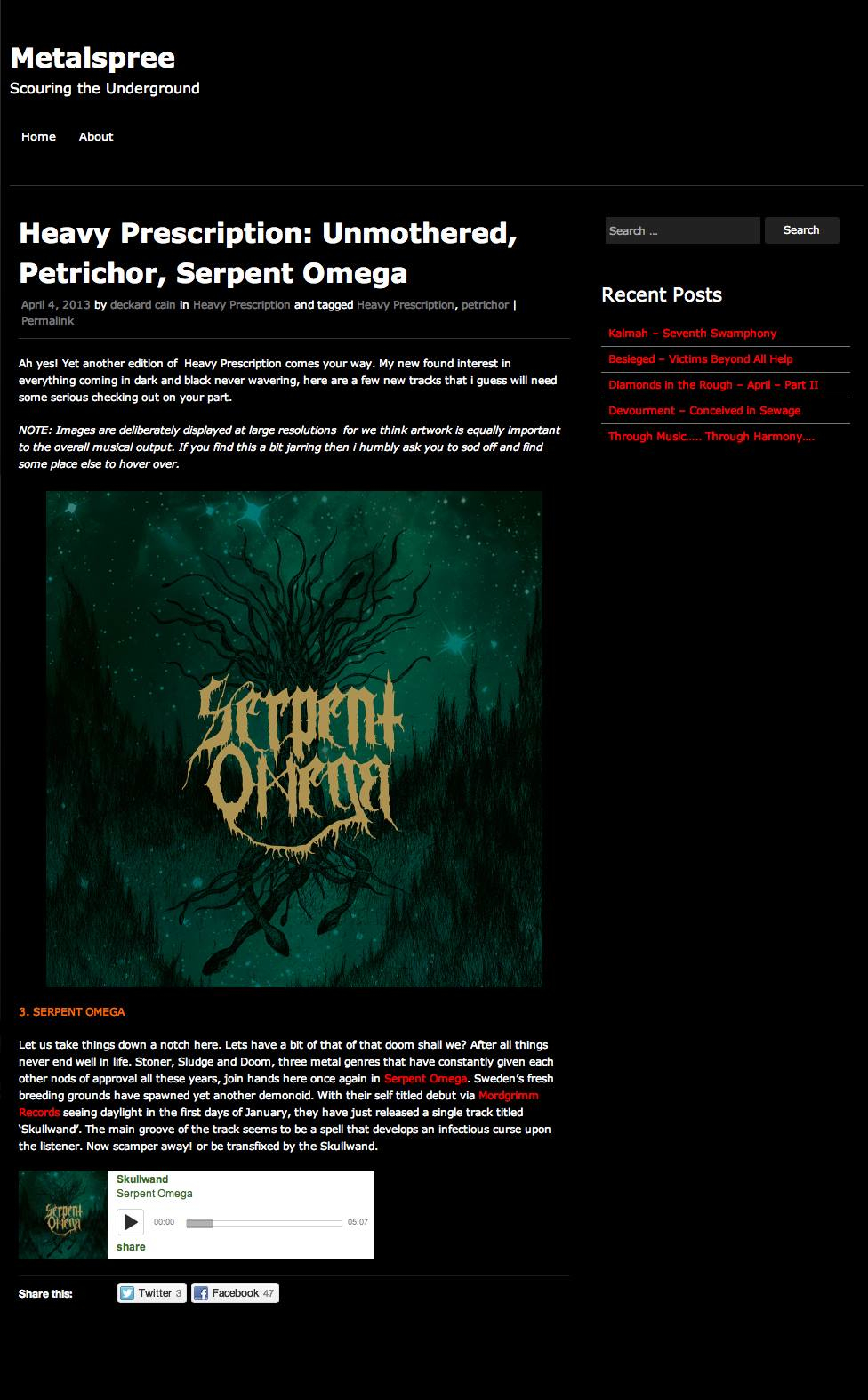 Review / Metalspree