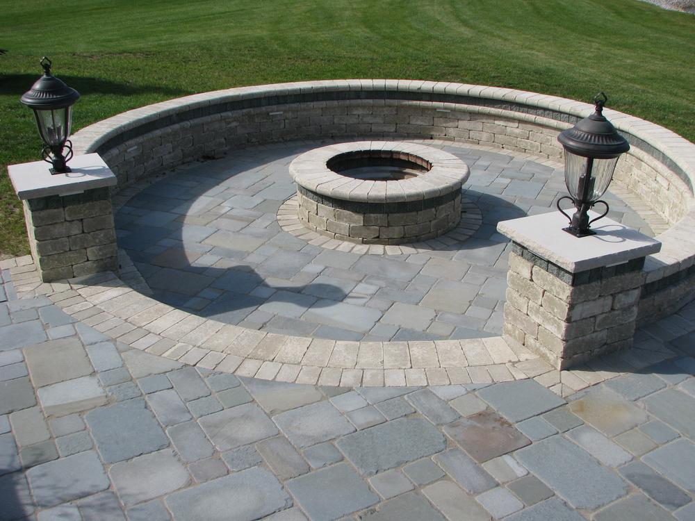 Natural Stone Patio : Natural stone patios — outdoor living
