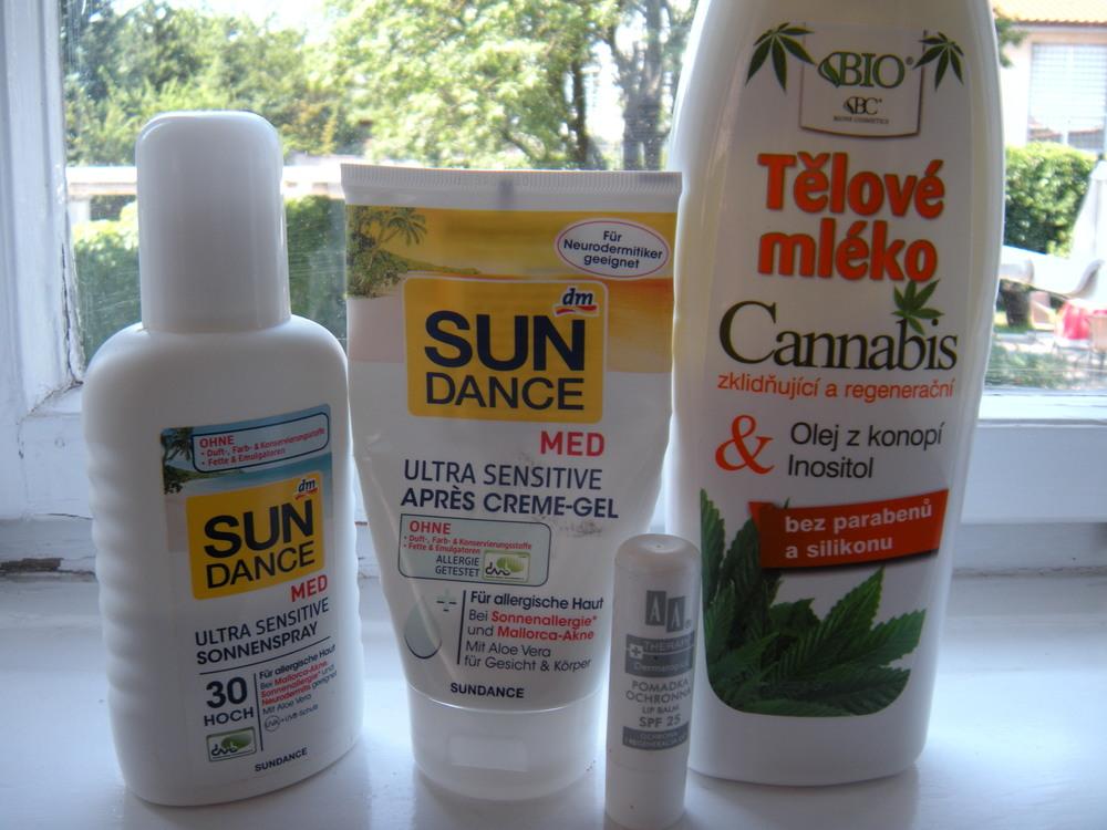 Telová starostlivosť pri pobyte na slnku a po ňom: