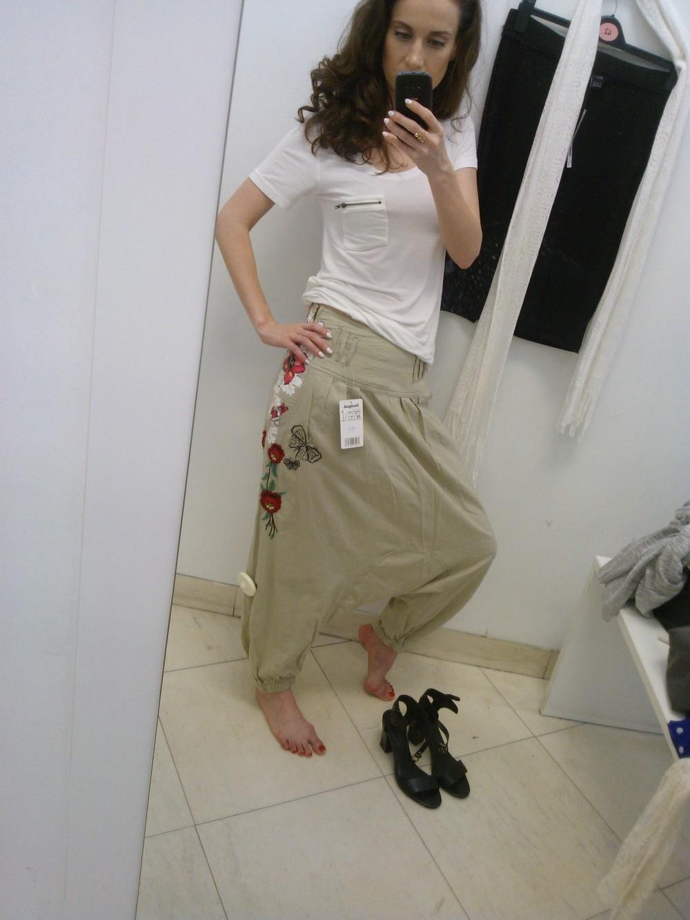 Tieto nohavice? V mojom veku? Na mne?