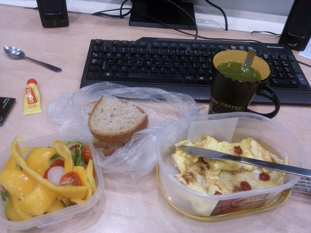 Raňajky v práci