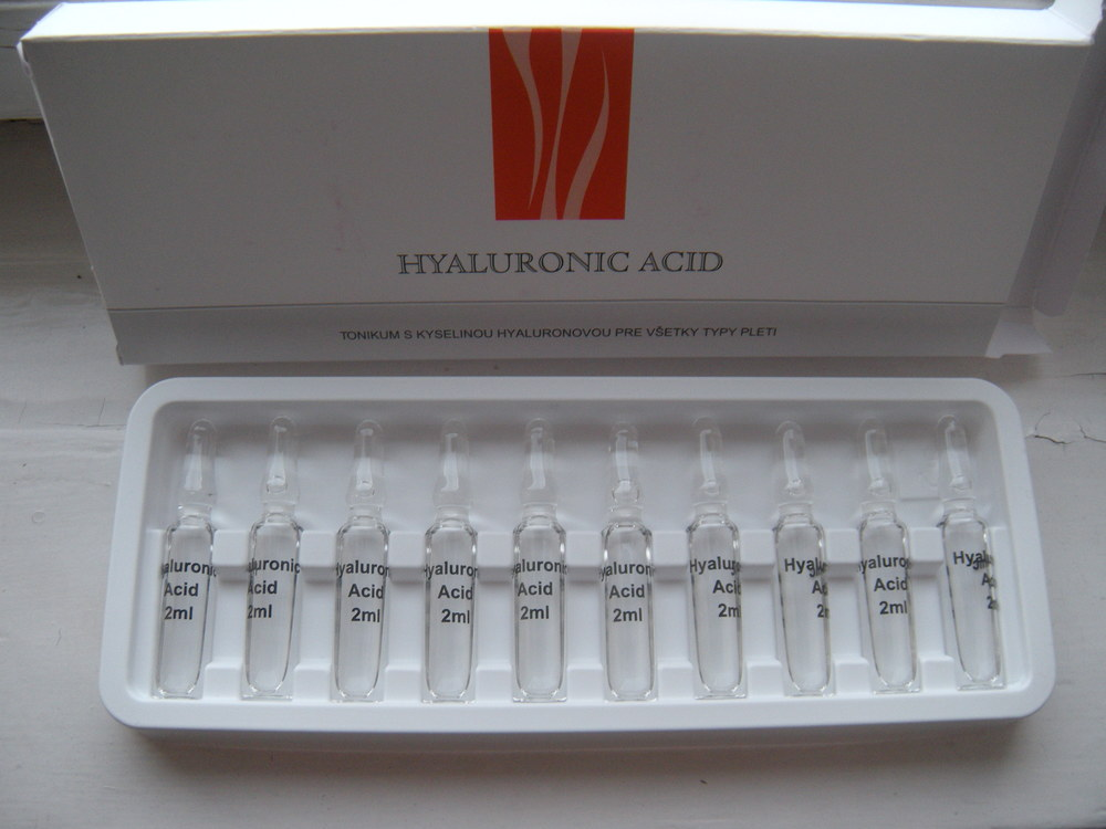 Kyselina hyalurónová v ampulkách