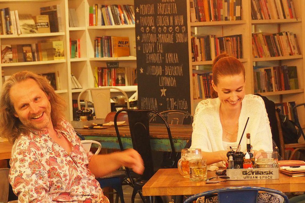 ten moment, keď žena rozosmeje muža...foto:Zuzi Svak