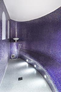 parná sauna v hoteli  Alexandria    v           Luhačoviciach
