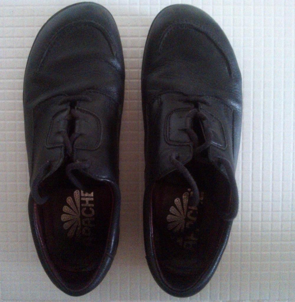 kožené topánky Apache