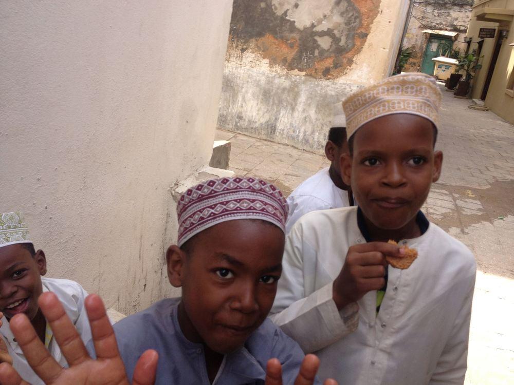 Zanzibarské deti. Tie zdravé. archív M.H.