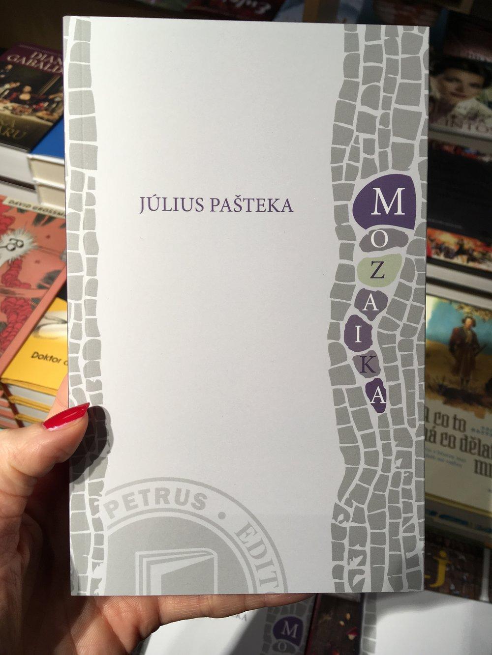 nová kniha Miškinho dedka J.Pašteku Mozaika