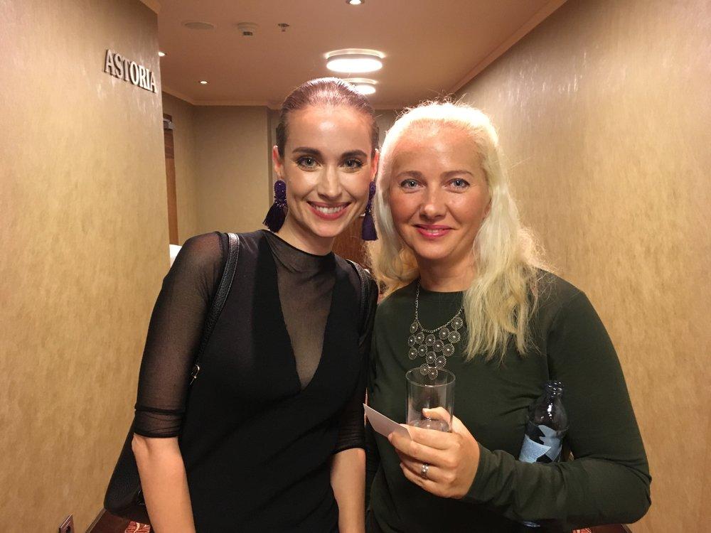 S Ľubkou Gáborovou z Institut Esthederm