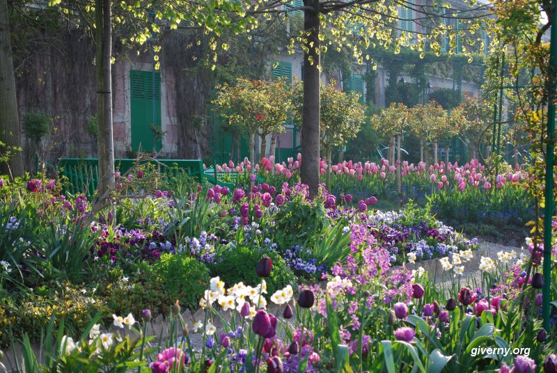 Monetova záhrada v Giverny