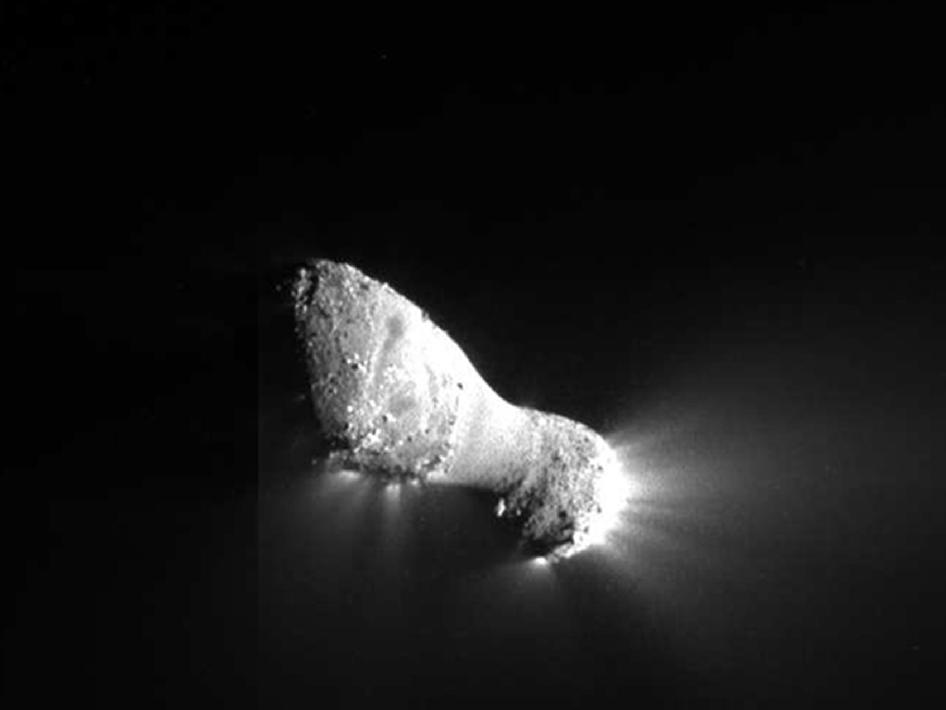 NASA Mission Successfully Flies By Comet Hartley 2             Just plain cool.