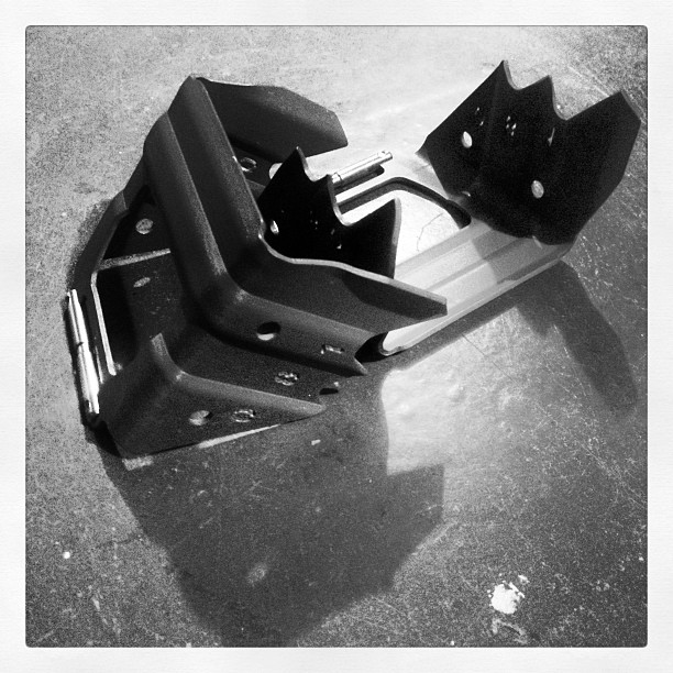 Ski crampons (Taken with instagram)