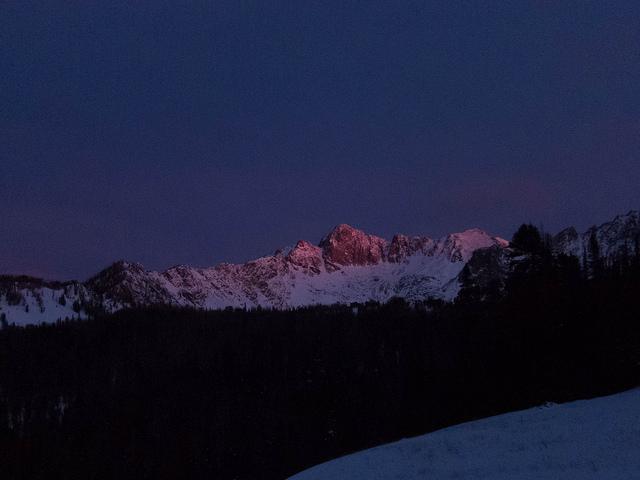 Sunrise on Beehive Peak  on Flickr.