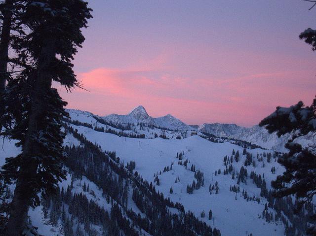 Dawn over the Pfiefferhorn  on Flickr.