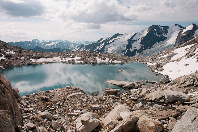 Alpine blue on Flickr.