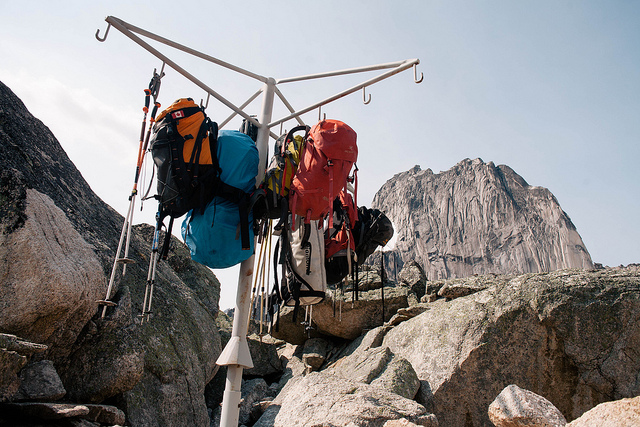 Bugaboos Pack Rack  on Flickr.