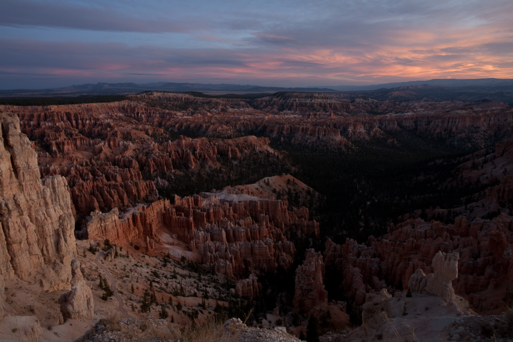 Bryce Canyon at dawn. (From several years ago.)