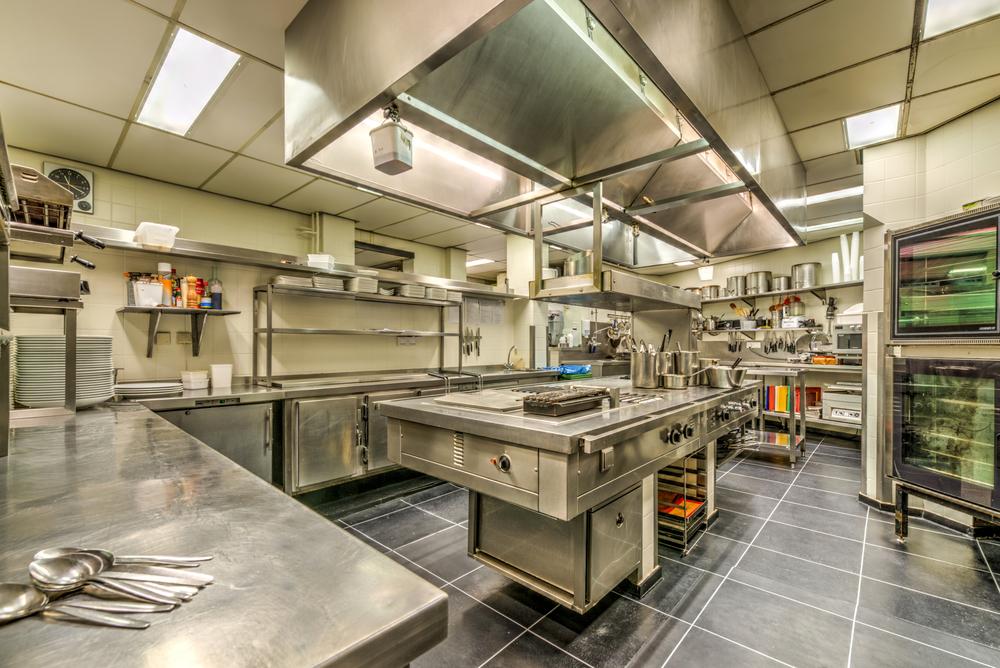De keuken zoals die nu is