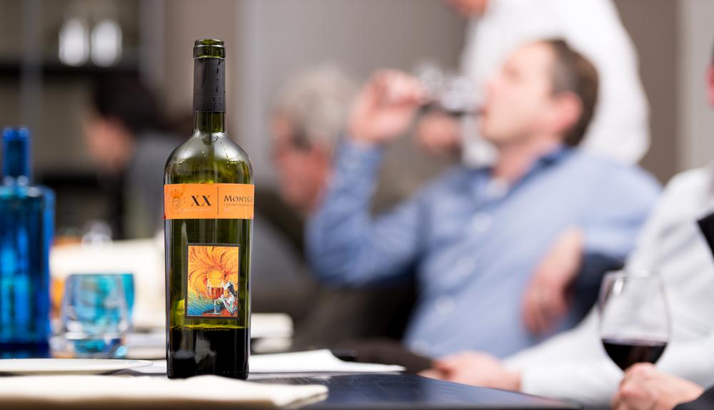 Wijnproeverij ter gelegenheid van het jubileum