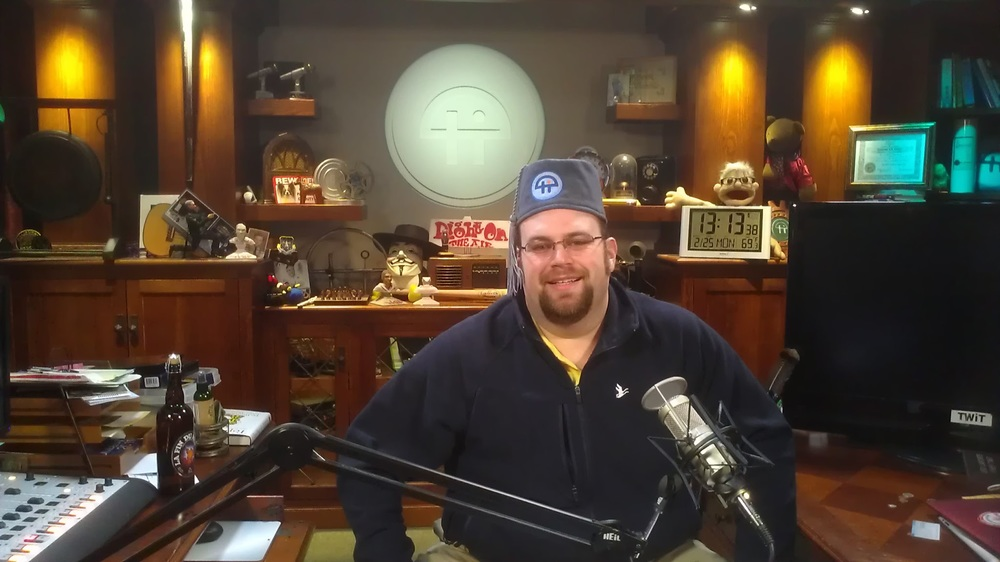 Me at TWiT Studios in Petaluma, CA