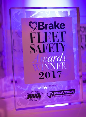 NVD Wins 2017 Driver Safety Award (Small Fleet Category)