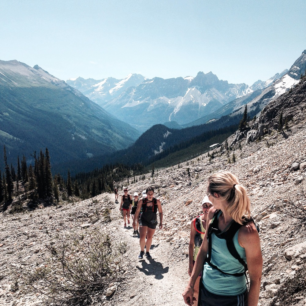 An alpine trail run in Yoho Park achieved some big goals and created enduring memories for many of the participants.