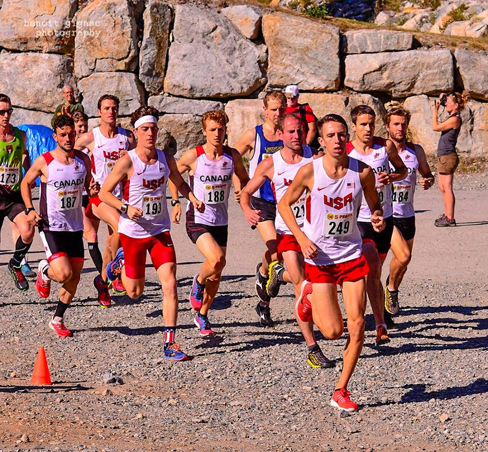 2015 NACAC Mountain Running Championships at Cypress Mountain.