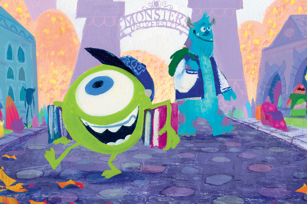 rule disney male only mike wazowski monster