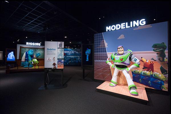 Exhibition Booth Animation : Pixar animation studios