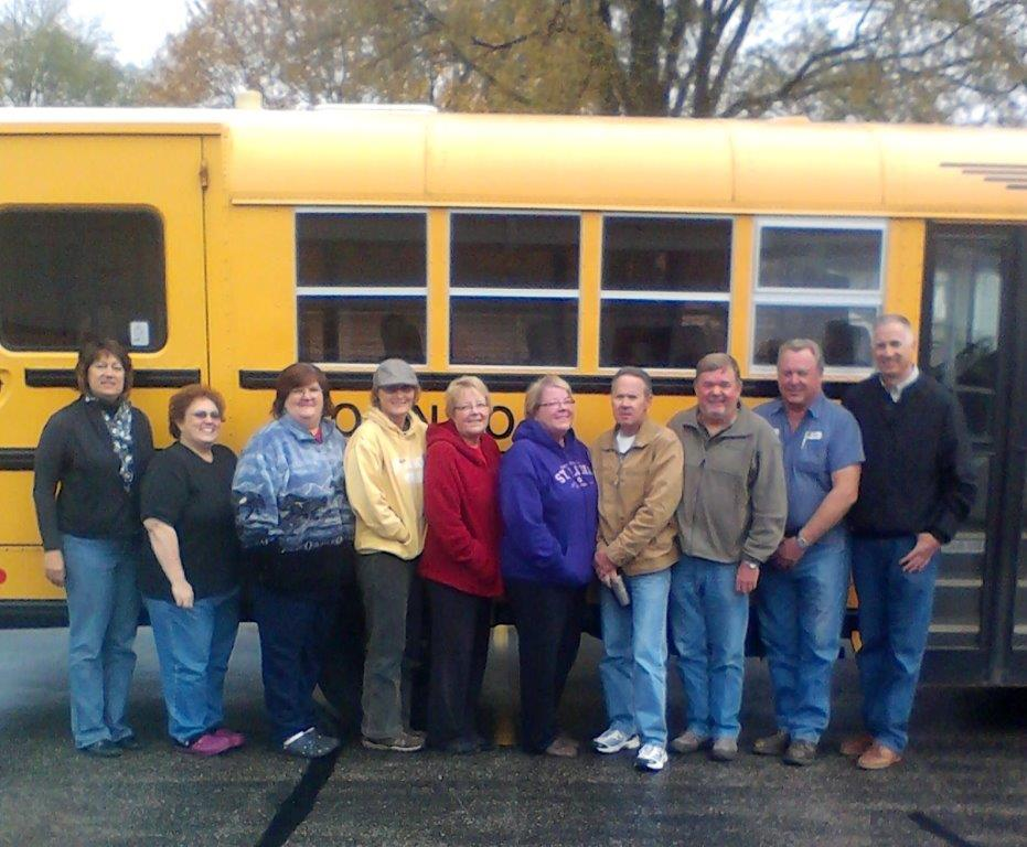 Our team of talented and enthusiastic Johnson School Bus drivers at the Horicon location.
