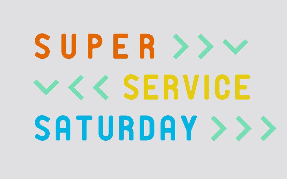 "Spring 2018 -""Super Service Saturday"""