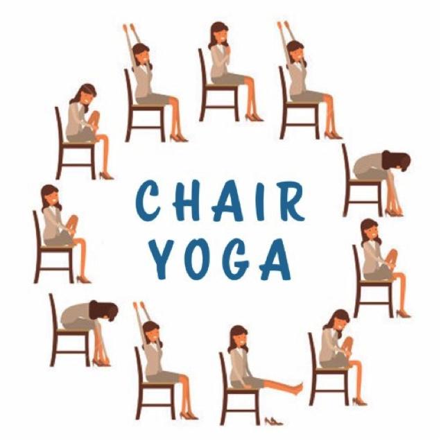 Beginner Chair Yoga With Barbara Mcadams Lil Lack Yoga