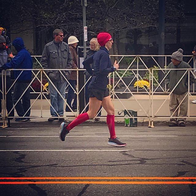 @rebekahpalaian running with grace & grit toward a 46-minute PR at the @freepmarathon. 💞 #ProudCoach