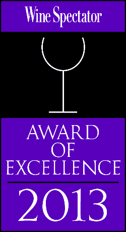 Wine Spectator Winner 2003 - 2013!