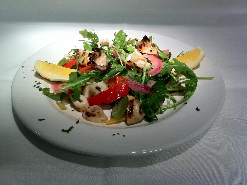 Grilled Calamari Insalata