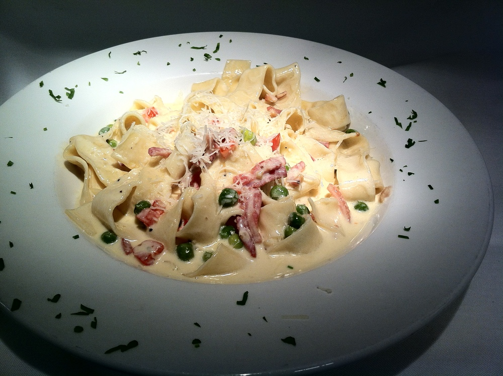 Fresh Pappardelle Carbonara