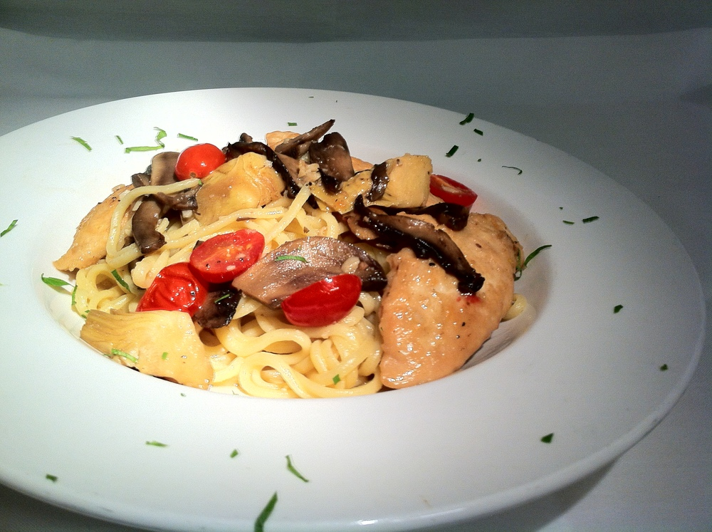 Daily Special: Linguine Chicken & Artichokes