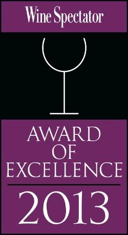Wine Spectator Winner   2003 - 2014!