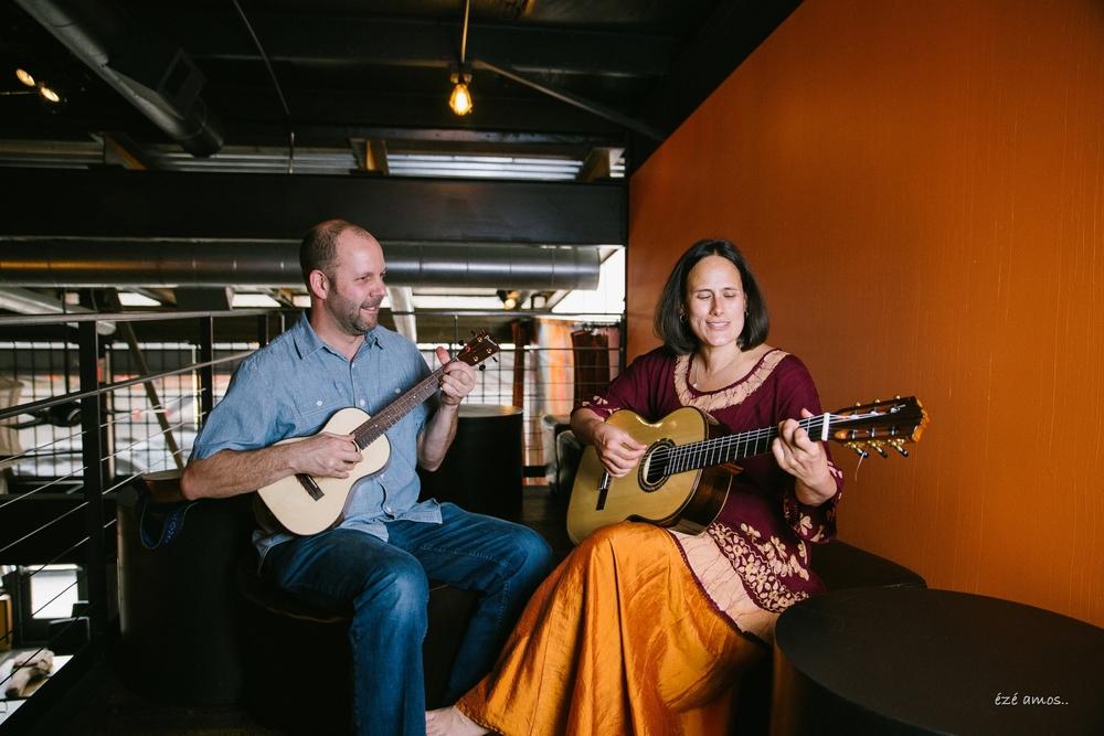 David Berzonsky and Estela Knott