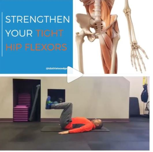 Role of the Hip Flexors in Sprinting