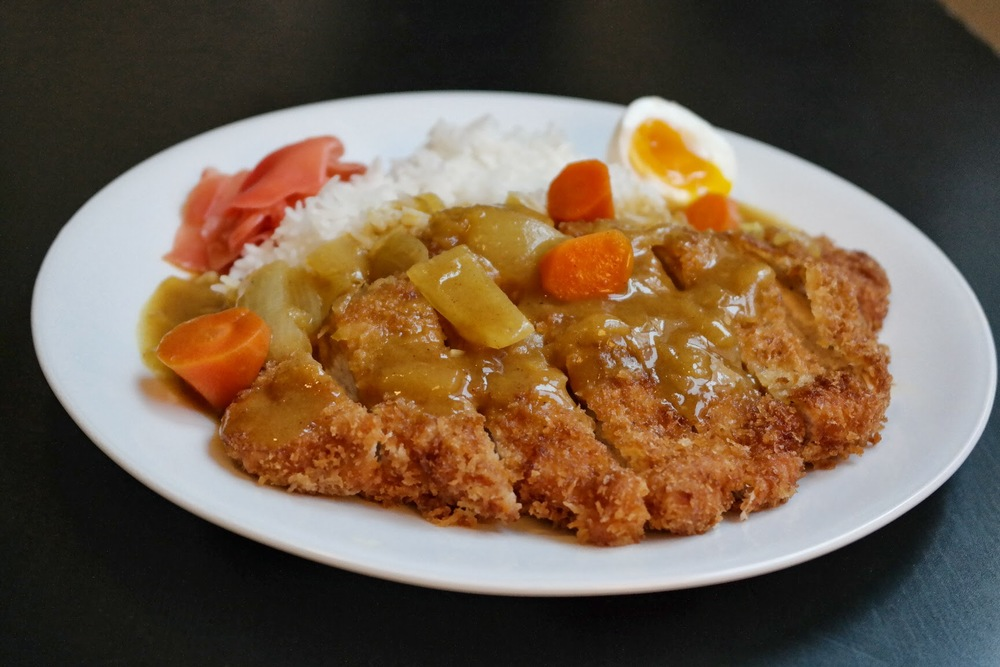 tonkatsu curry — cooking with yoon