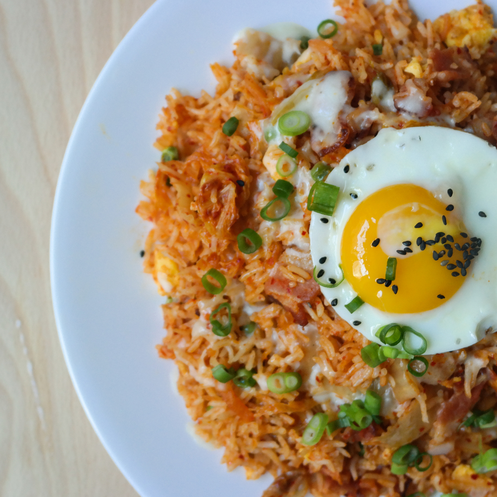 kimchi fried rice kimchee bacon fried rice fried rice kimchi and bacon ...