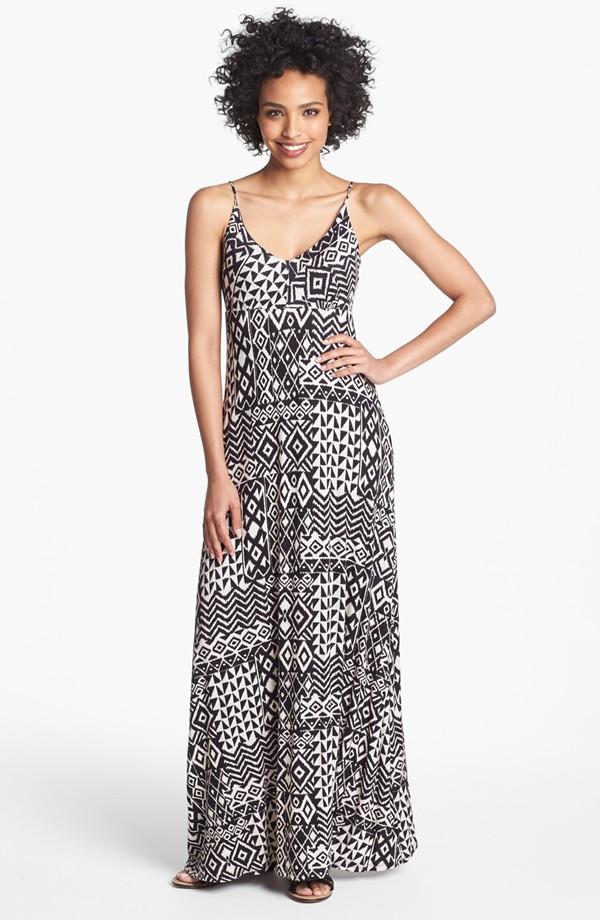 Print Maxi Dress Black.jpg
