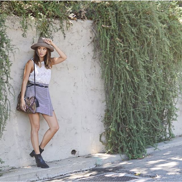 Mixing patterns with @jamiejchung. Follow her for more details. #style #ootd #fashionista #streetstyle