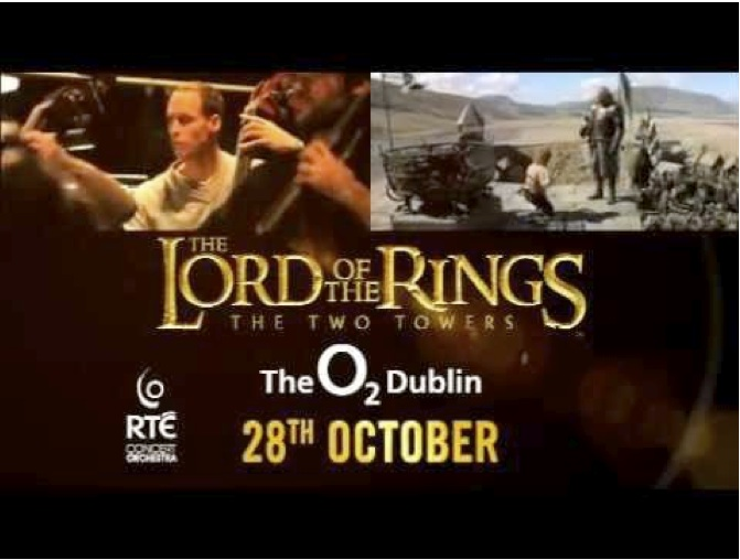 Lord of the Rings The Two Towers, O2 Dublin, 2012