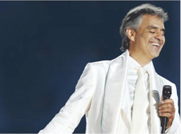 Andrea Bocelli, Odyssey Arena, Belfast, 2012